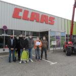 Visite de l'entreprise CLAAS à Saint Andiol